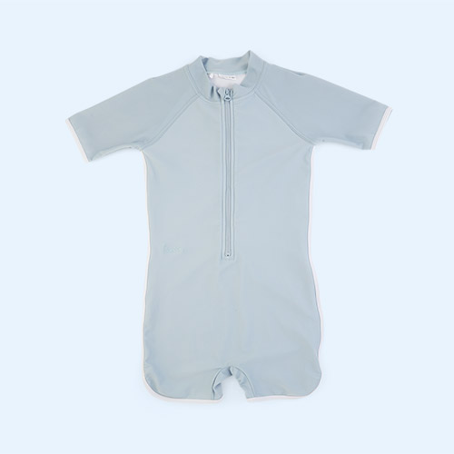 Sea blue Liewood Triton Swim Jumpsuit