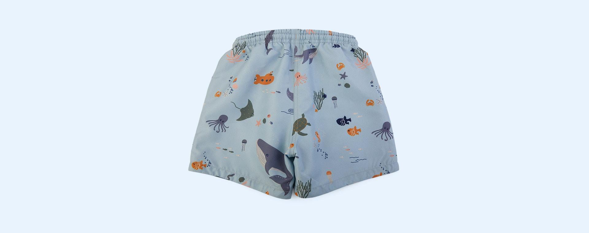 Sea creature mix Liewood Duke Board Shorts
