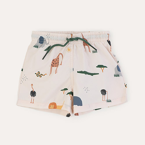 Safari sandy mix Liewood Duke Board Shorts