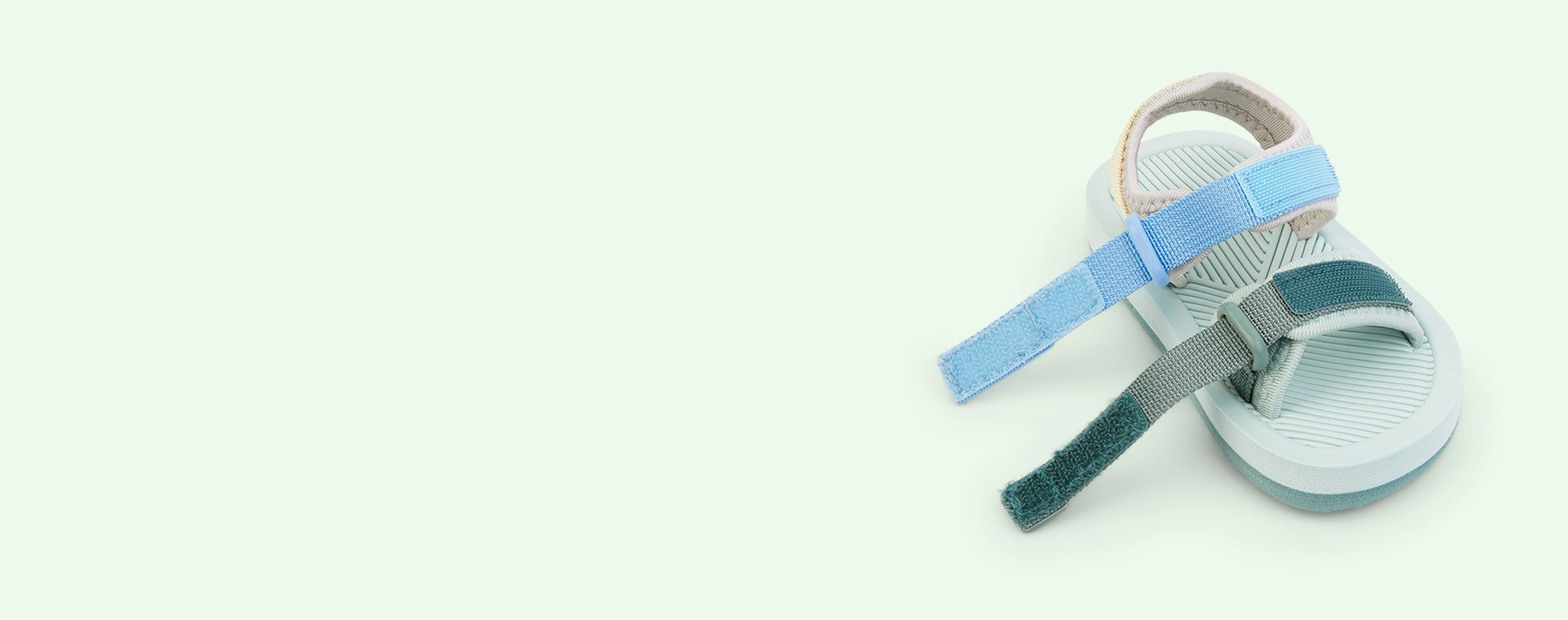 Dusty Mint Multi Mix Liewood Monty sandals