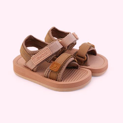 Rose mix Liewood Monty sandals