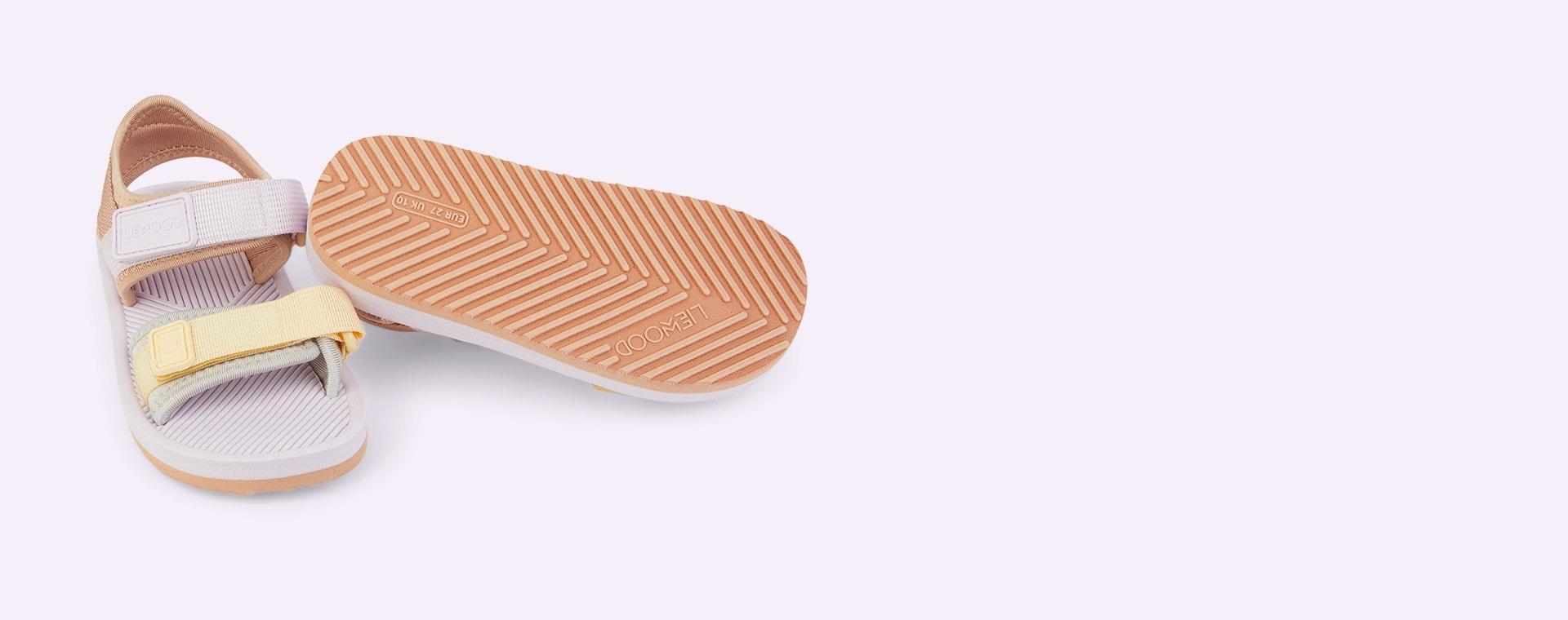 Light Lavender Multi Mix Liewood Monty sandals