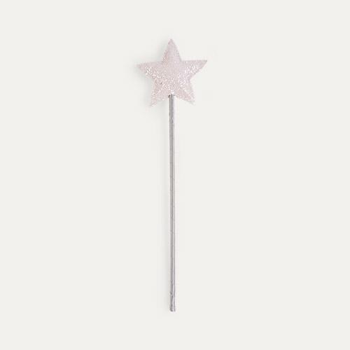 Silver Mimi & Lula Glitter Star Wand