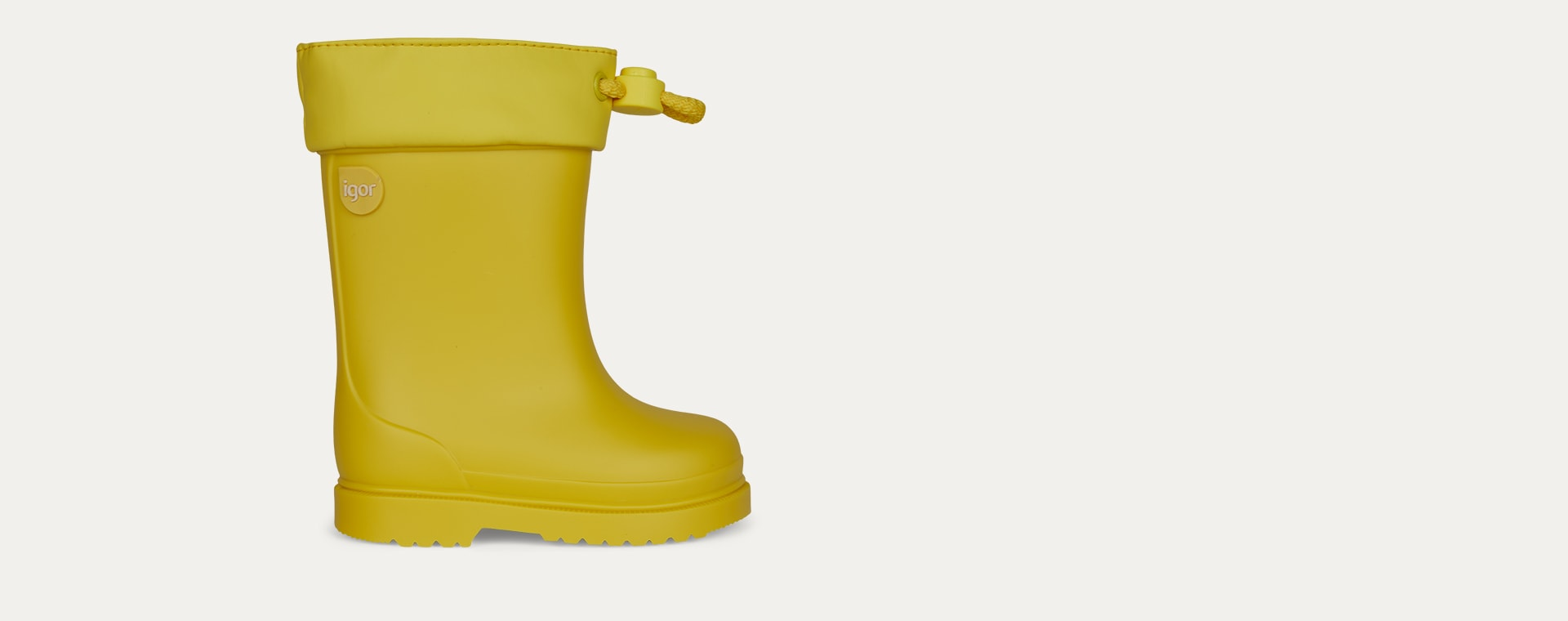 Yellow igor Chuffo Cuello Lined Rain Boot
