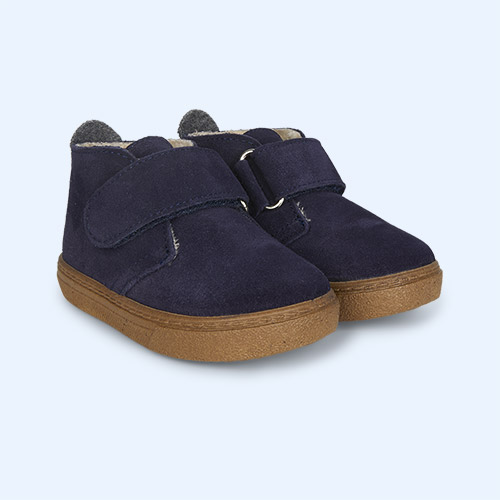 Navy igor Lined Cord Low Boot
