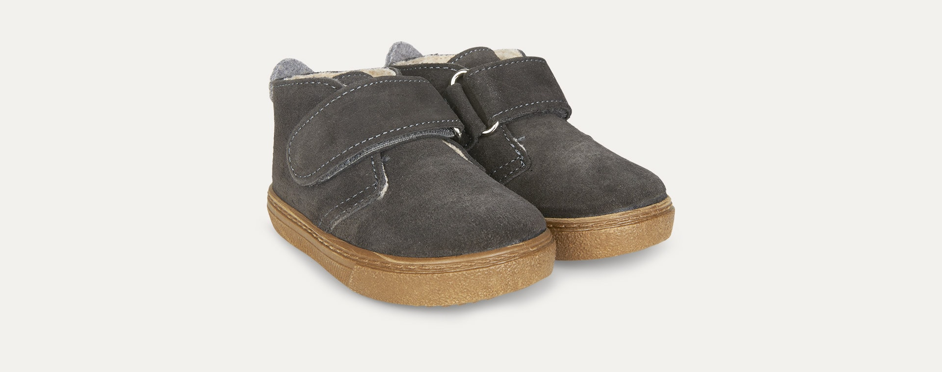 Anthracite igor Lined Cord Low Boot