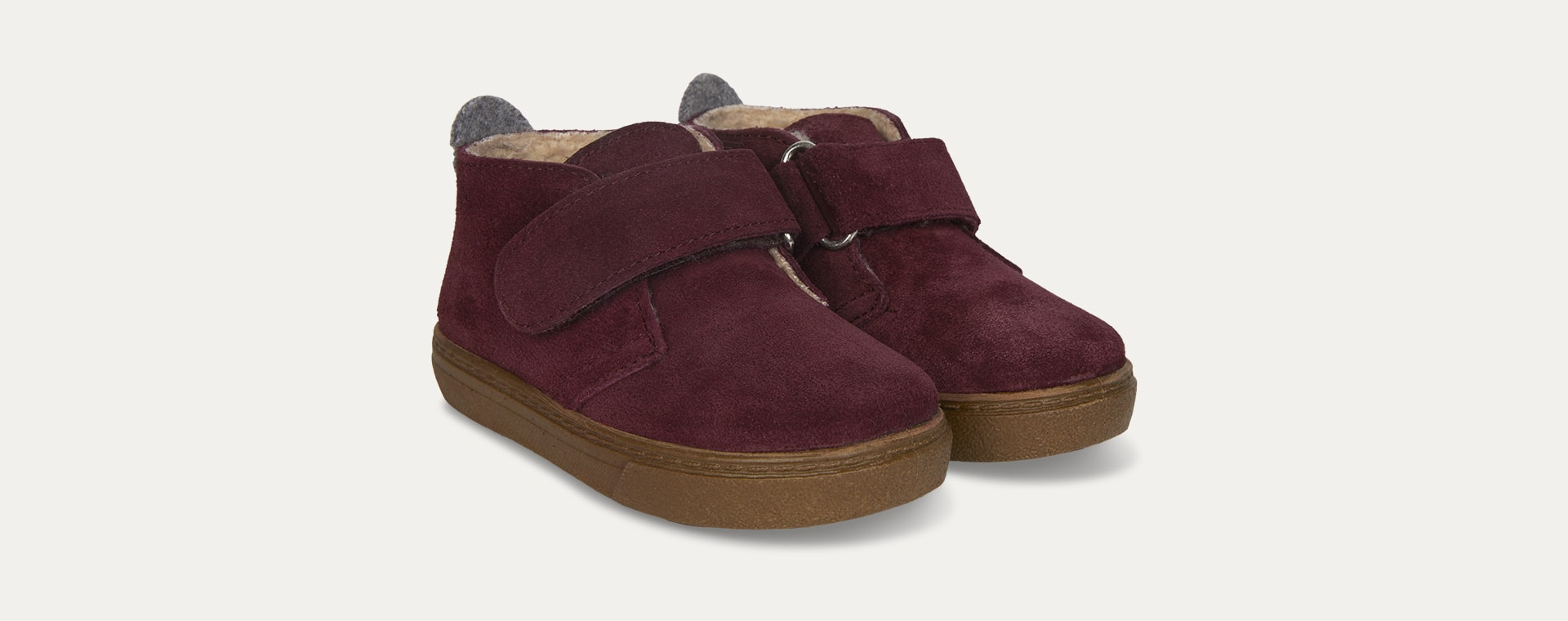 Burgundy igor Lined Cord Low Boot