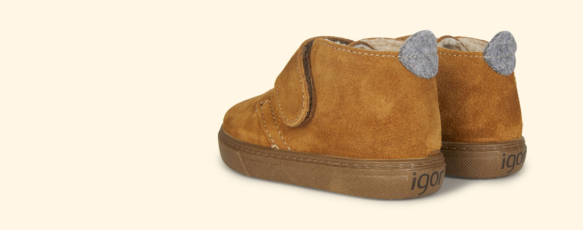 Mustard igor Lined Cord Low Boot