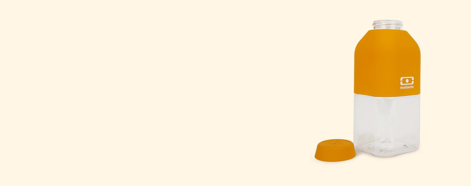Yellow Moutarde monbento Positive 330ml Bottle