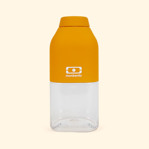 Yellow Moutarde monbento Positive 330ml Bottle
