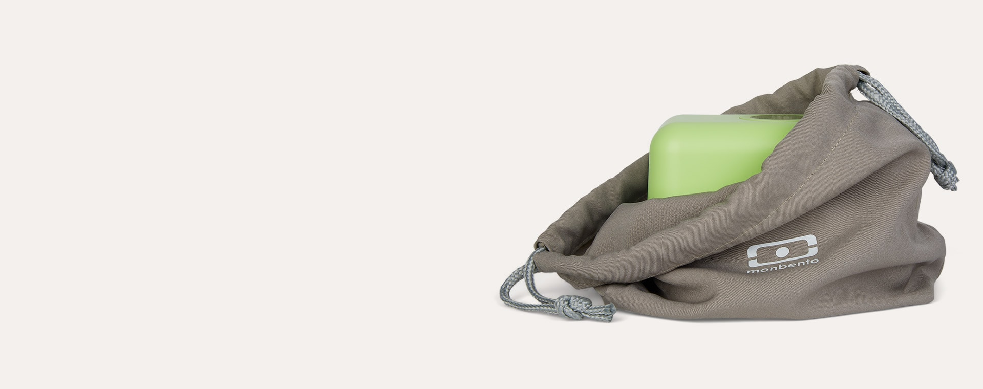 Grey Coton monbento Pochette Bento Bag