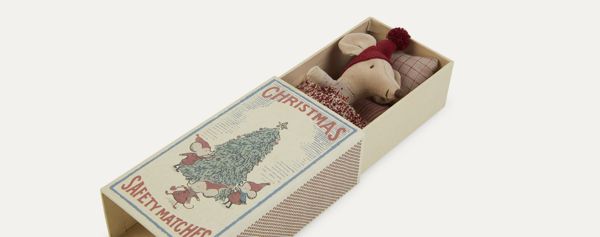 Big Sister Maileg Christmas Mouse in Box