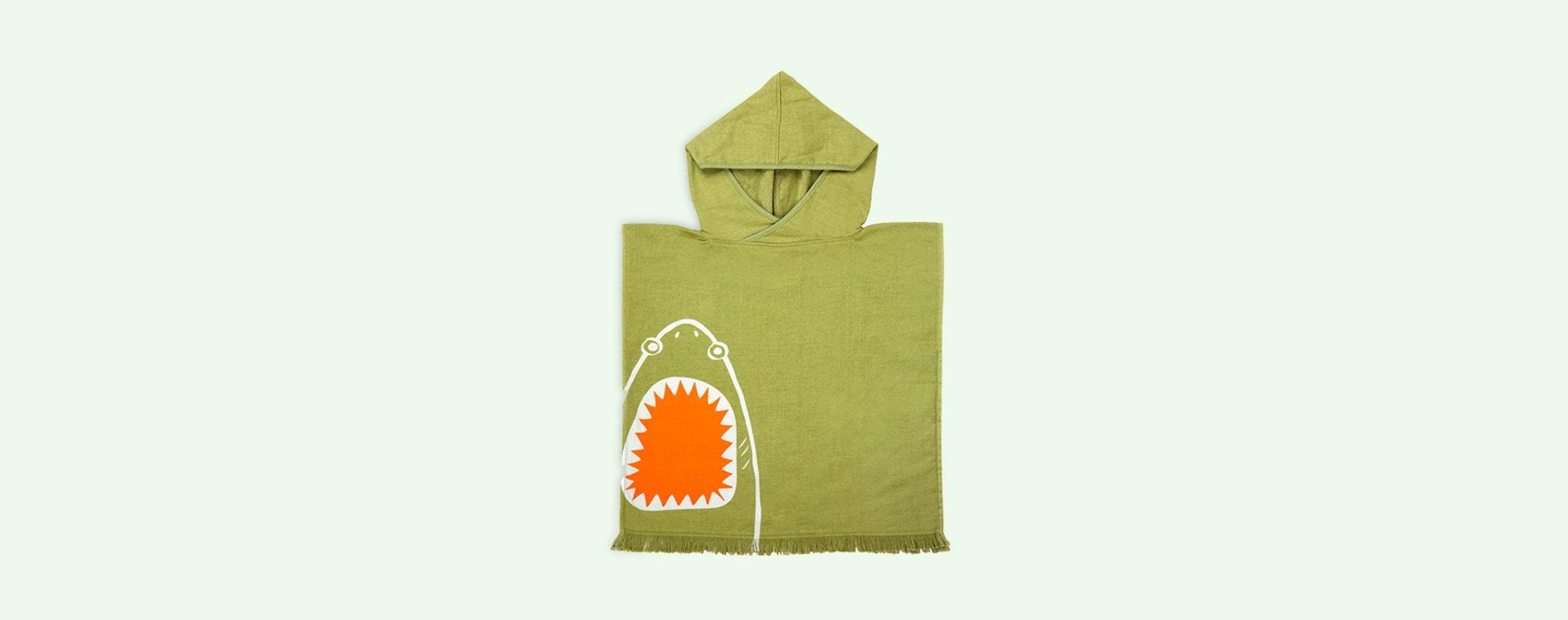 Shark Attack Sunnylife Beach Poncho