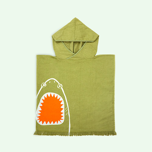 Shark Attack Sunnylife Beach Poncho
