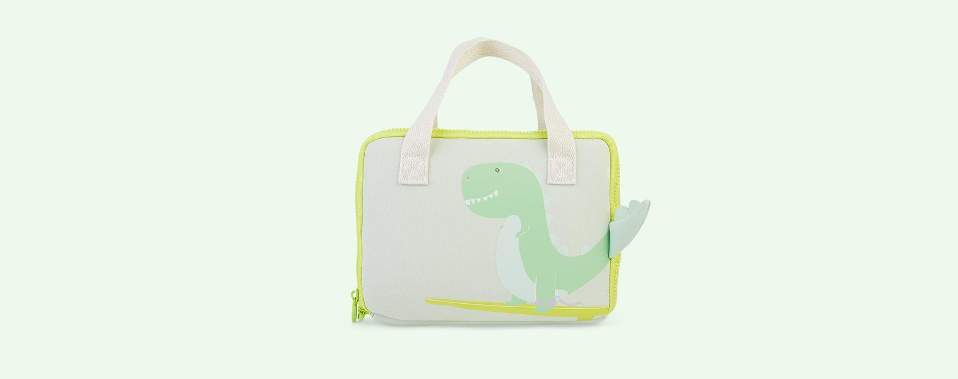 Surfing Dino Sunnylife Neoprene Lunch Bag