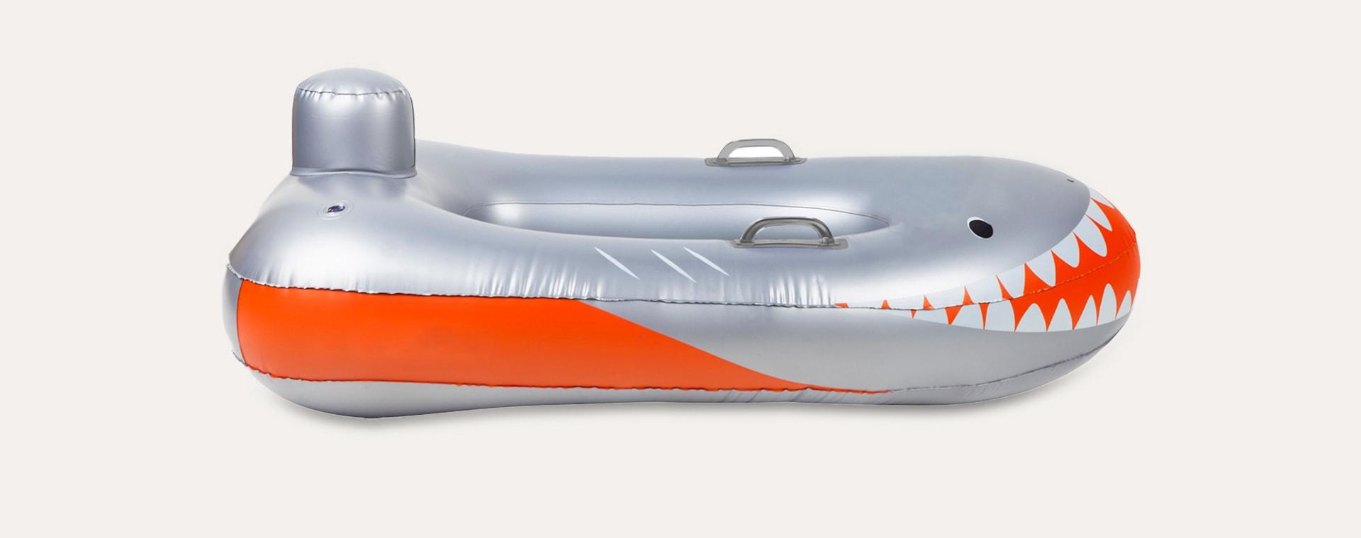Shark Attack Sunnylife Speed Boat Float