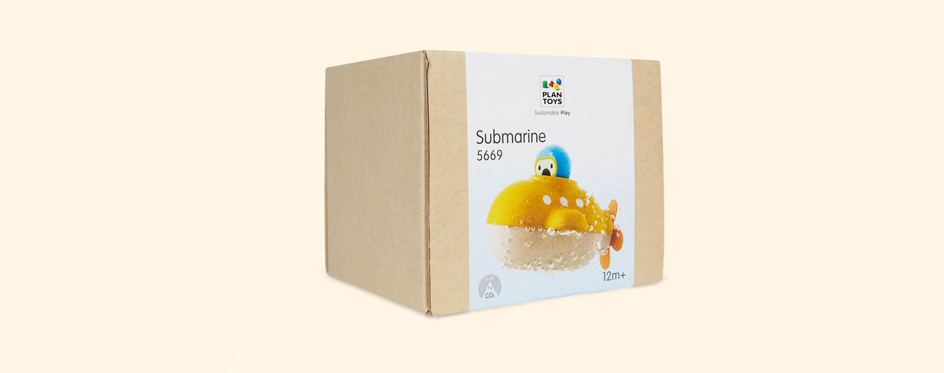 Yellow Plan Toys Submarine