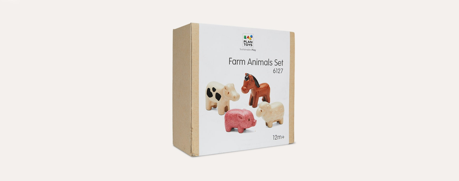 Farm Animals Set Plan Toys Animal Set