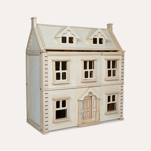 Neutral Plan Toys Victorian Doll House