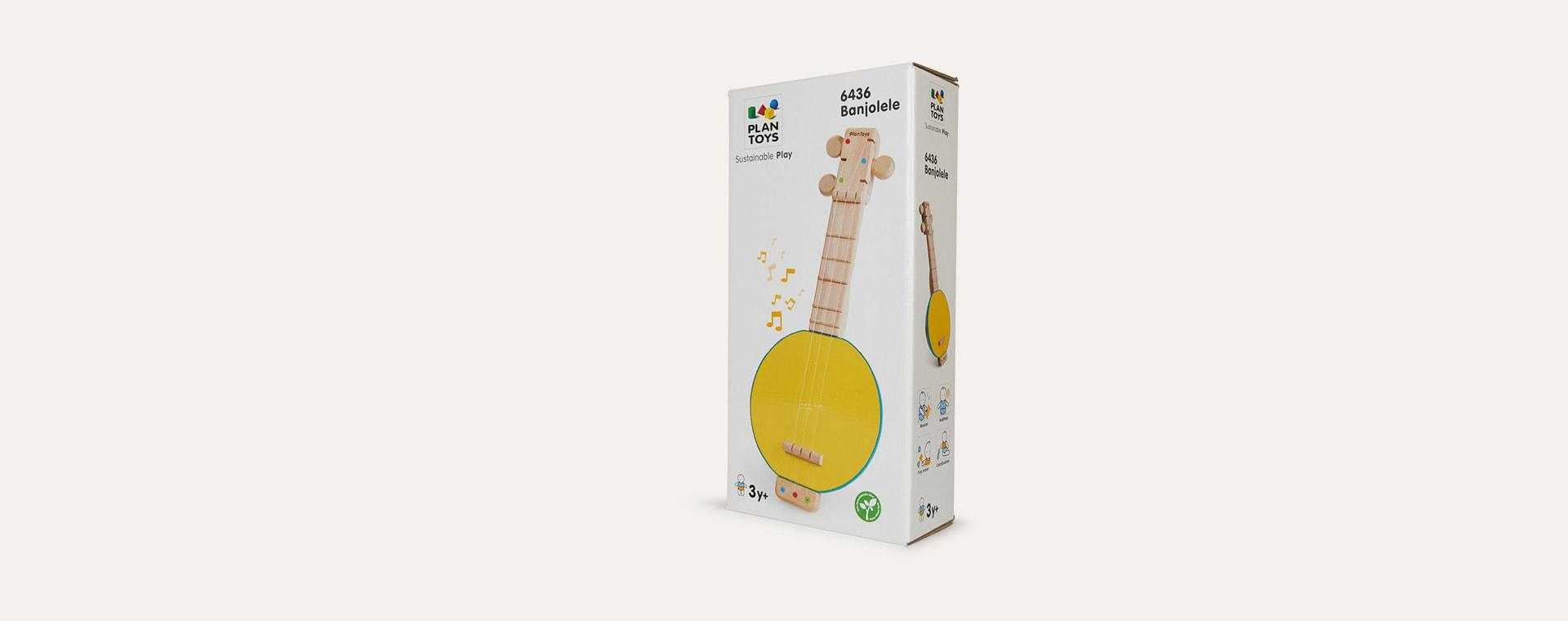Yellow Plan Toys Banjolele