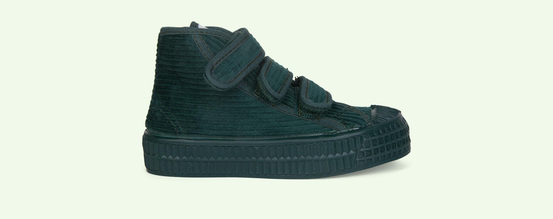 Green Novesta Star Dribble Corduroy Boot