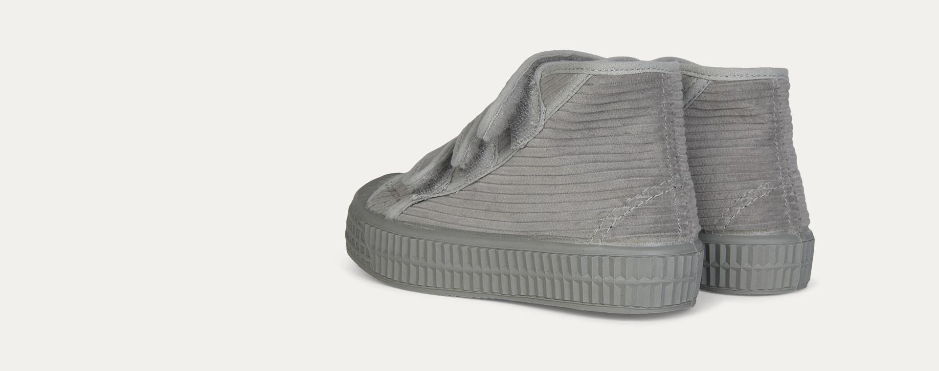 Grey Novesta Star Dribble Corduroy Boot