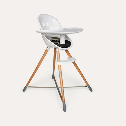 Brown phil&teds Poppy Highchair Wood