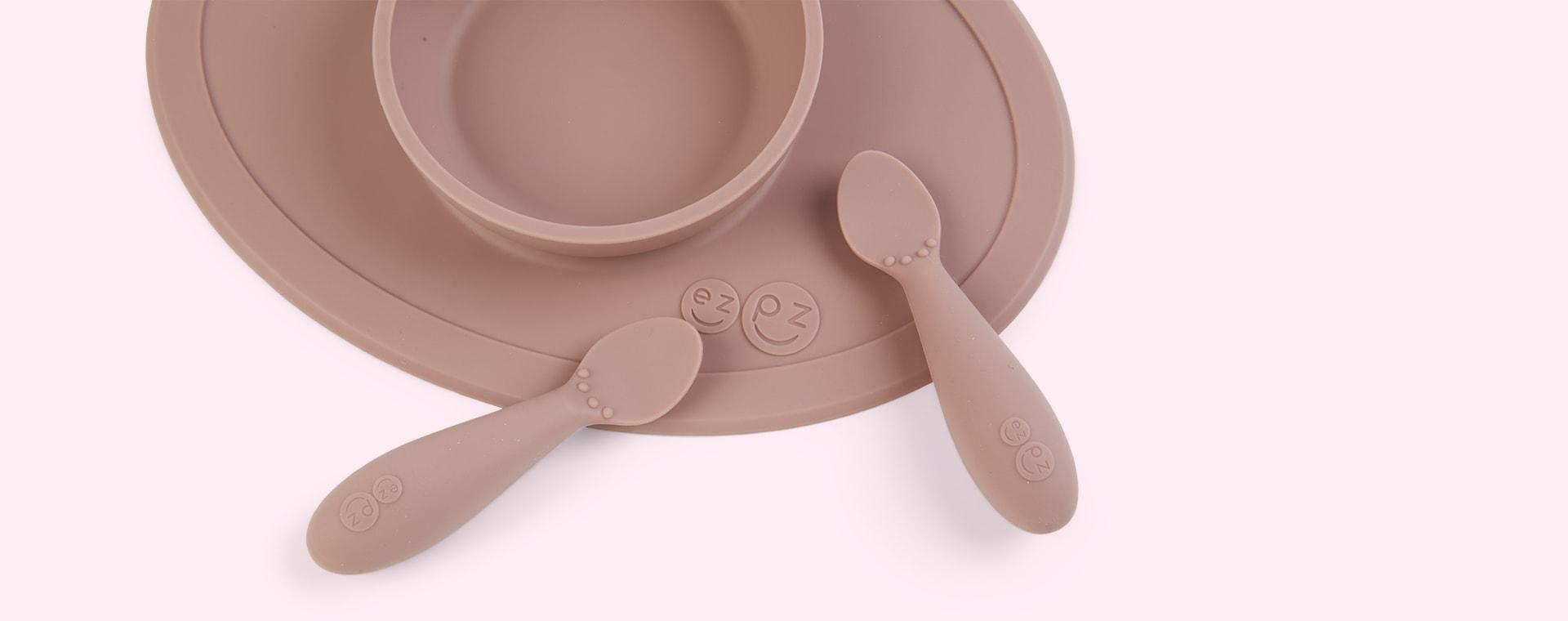 Pink Blush EZPZ Tiny First Food set