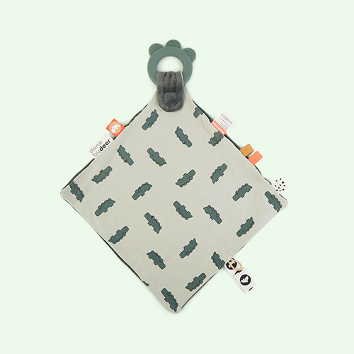 Green Done By Deer Comfort Teether Croco