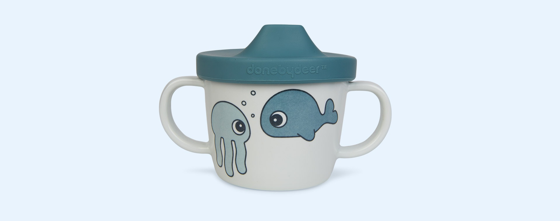 Sea Friends Blue Done By Deer First Meal Set Sea Friends