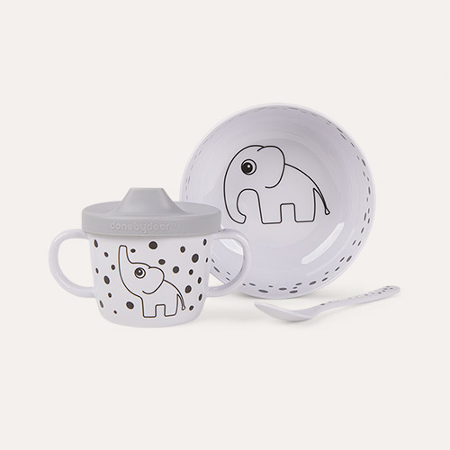 Happy Dots Grey Done By Deer First Meal Set