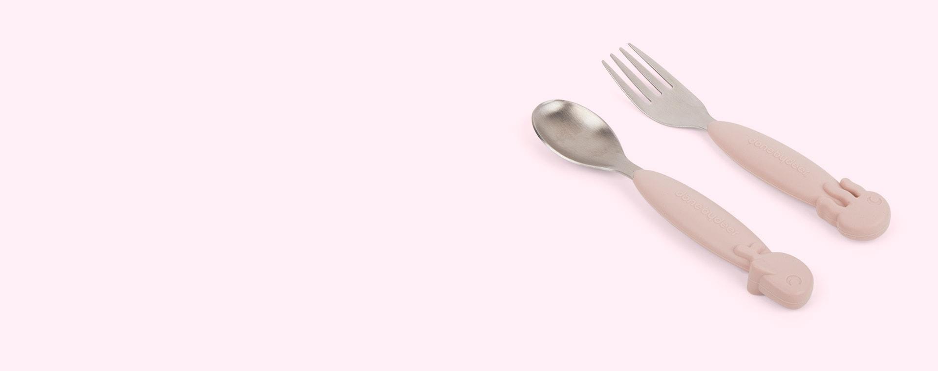 Powder Done By Deer Yummy+ Spoon & Fork