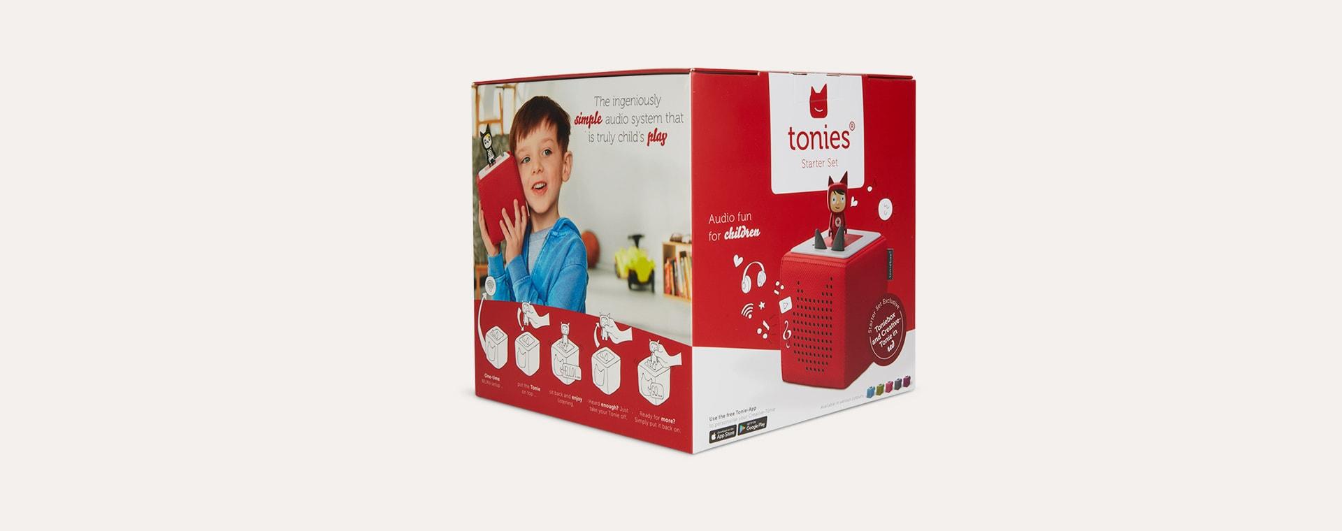Red Tonies Toniebox Starter Set