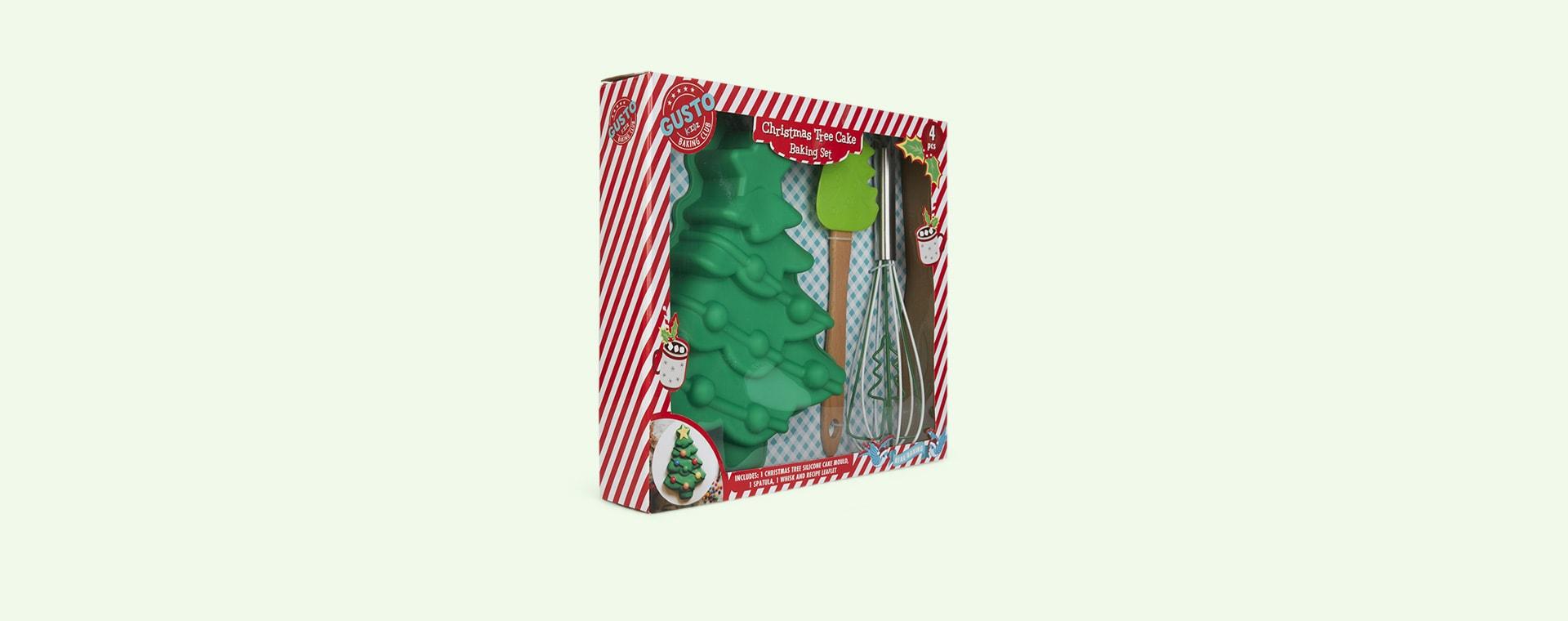 Multi Gusto Christmas Tree Baking Set
