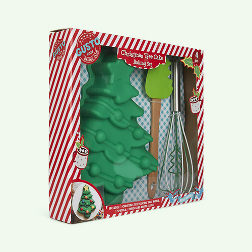 Multi Gusto Christmas Tree Baking Set