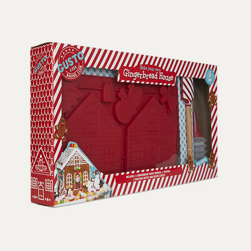Multi Gusto Gingerbread House Baking Set
