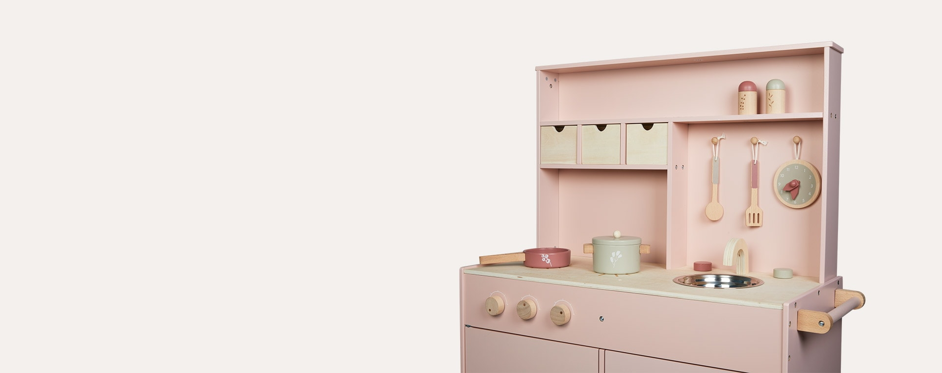 Pink Little Dutch Pink Kitchen