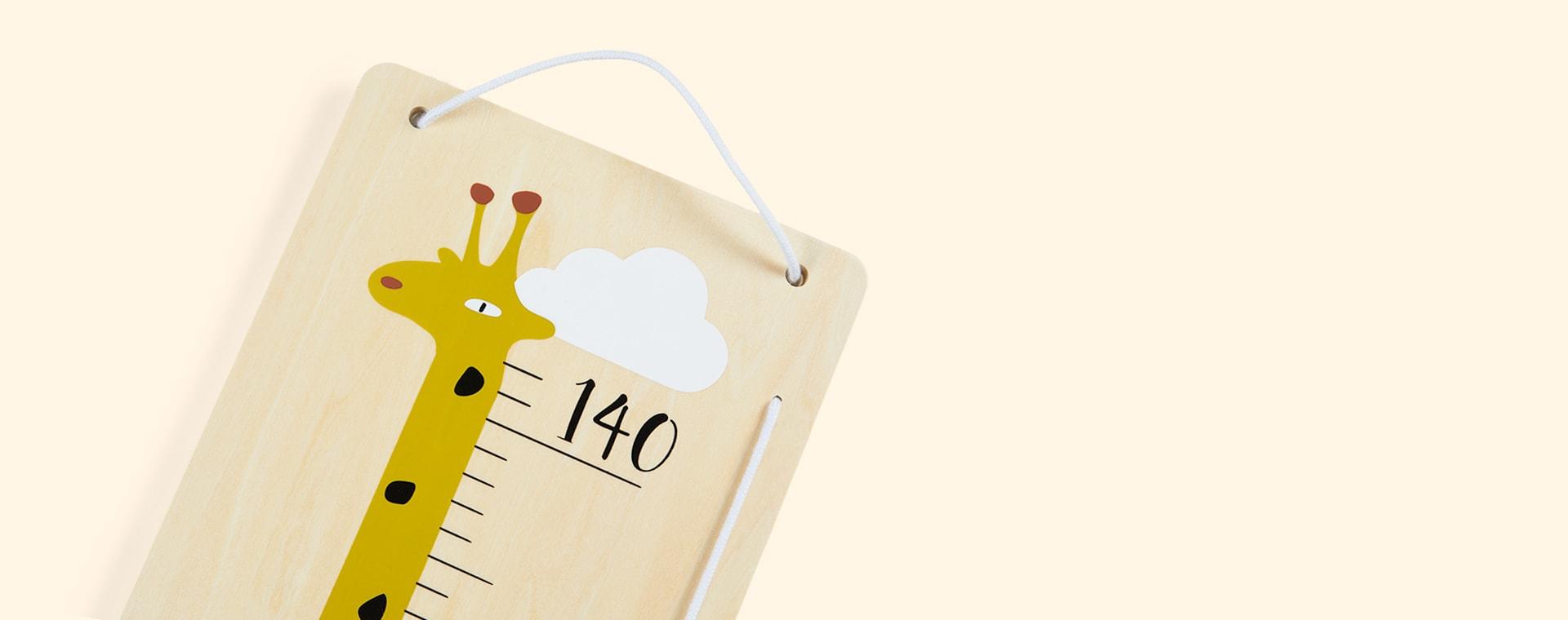Neutral Bloomingville Giraffe Measure Board