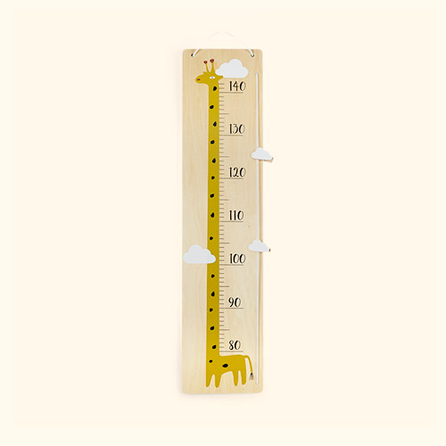 Neutral Bloomingville Giraffe Measure Board