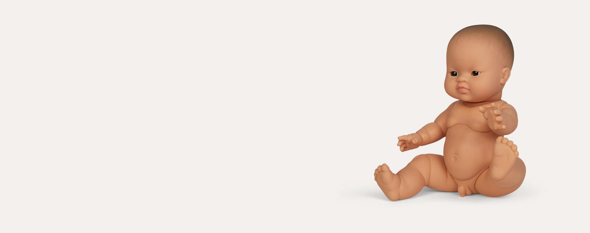 Multi Minikane Little Boy Doll