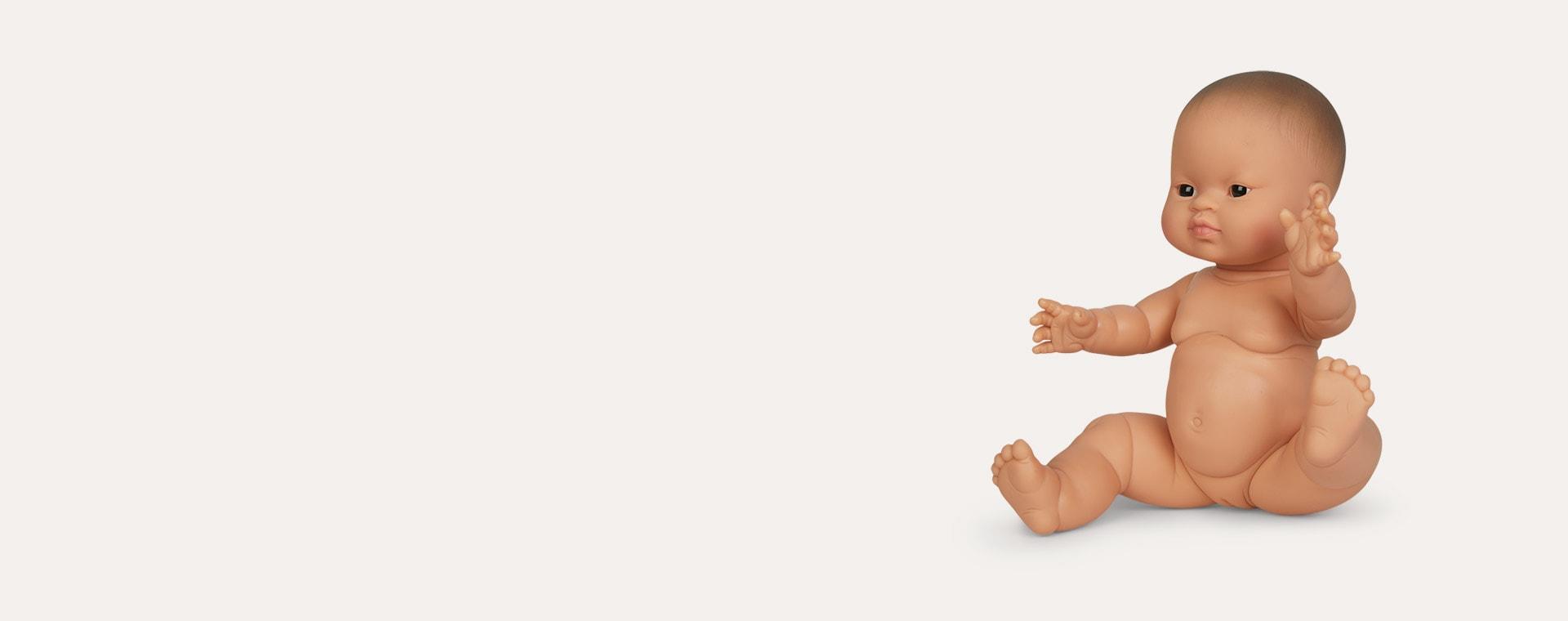 Multi Minikane Little Girl Doll