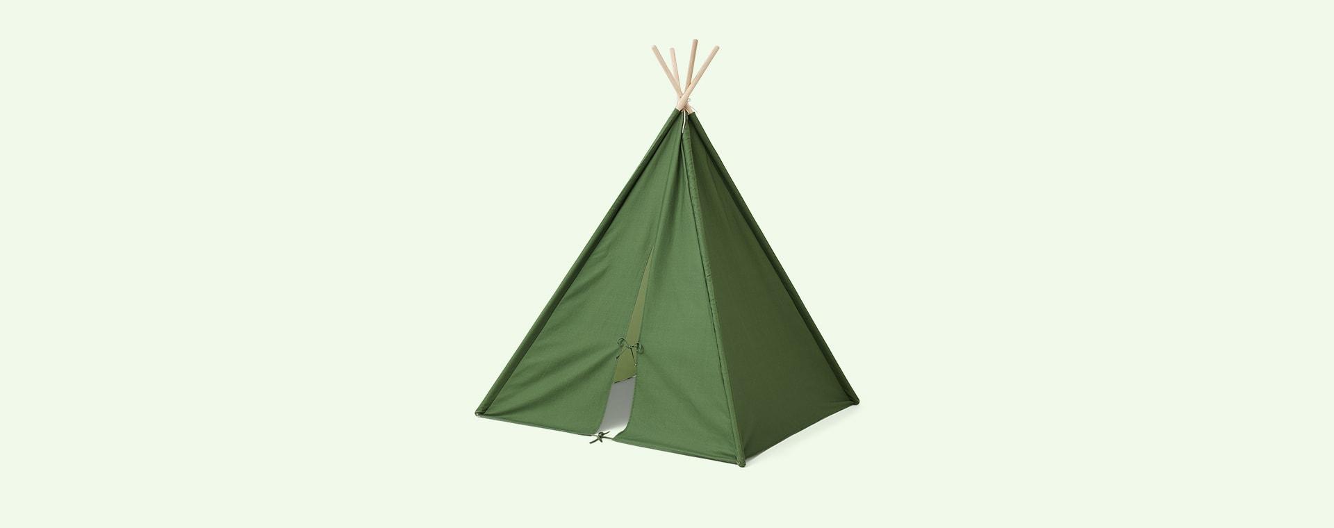 Green Kid's Concept Tipi Tent