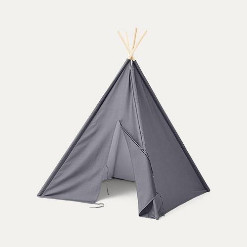 Grey Kid's Concept Tipi Tent