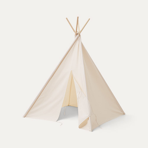 Off White Kid's Concept Tipi Tent