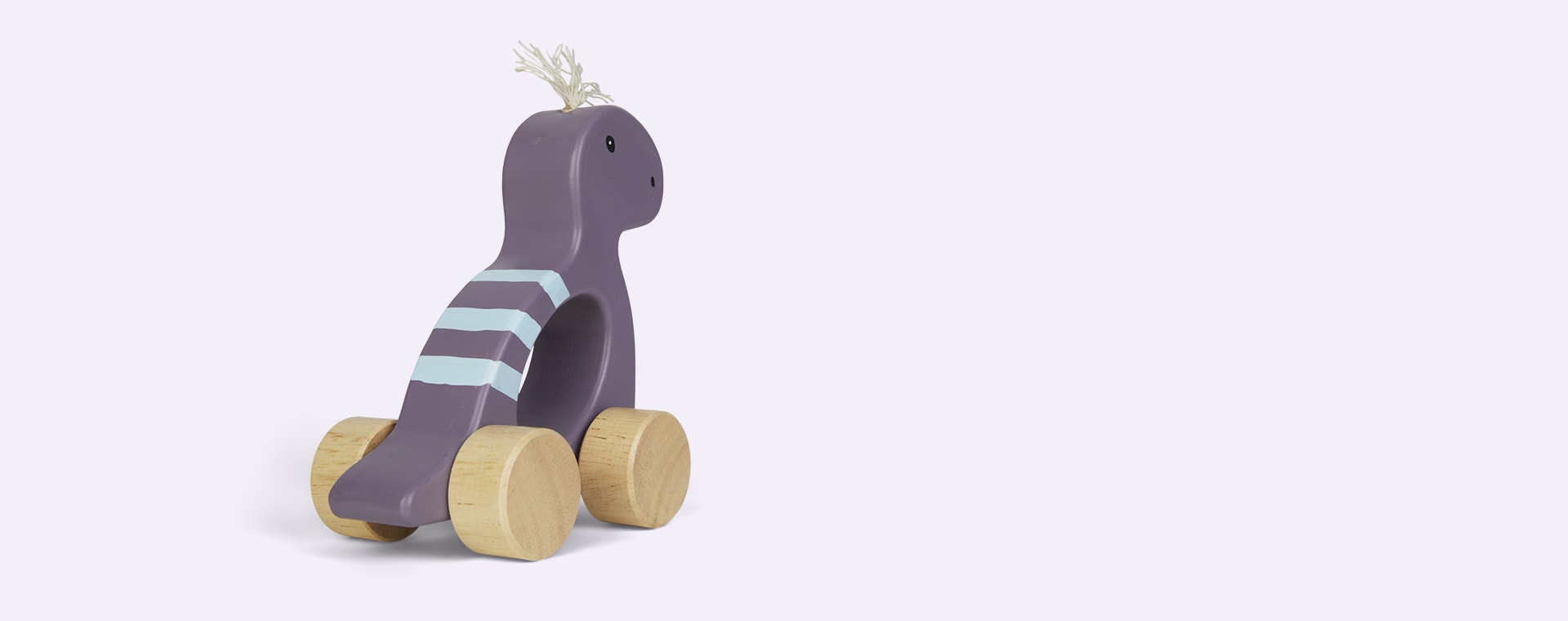 Purple Kid's Concept Dino Push Along