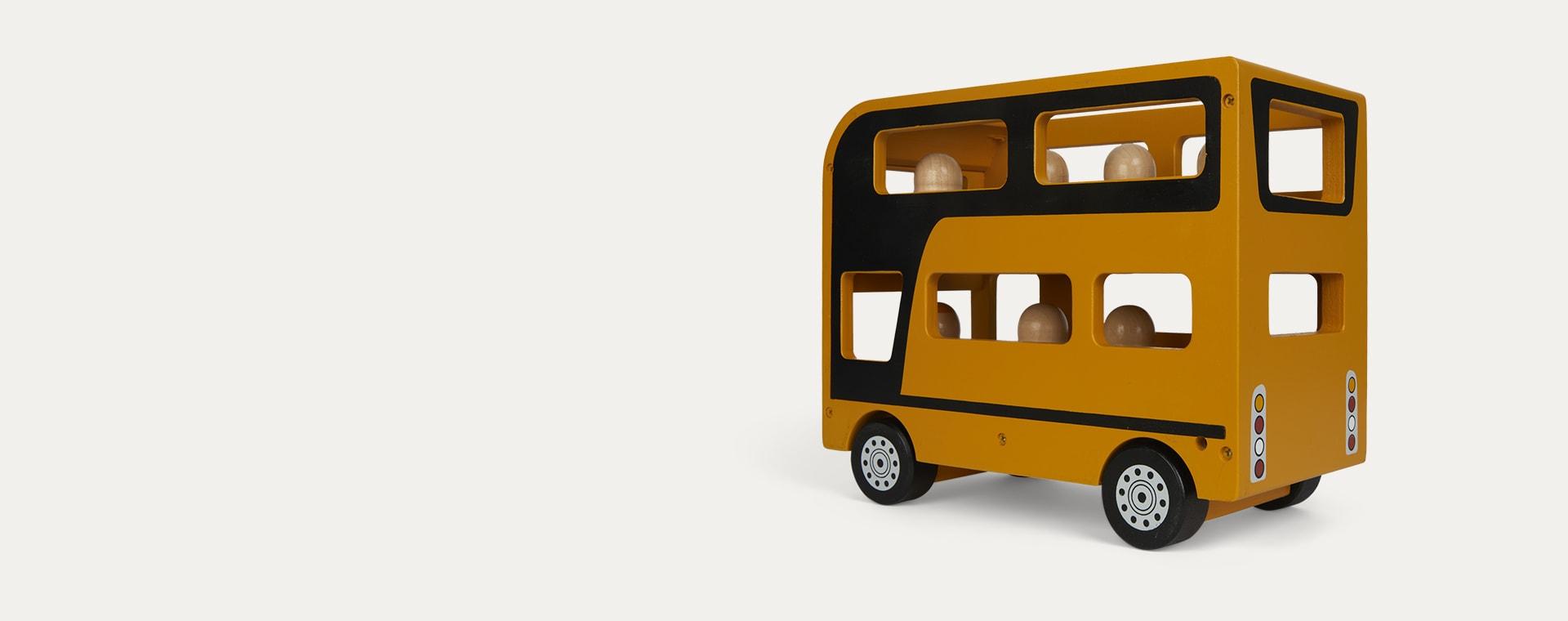 Yellow Kid's Concept Double Decker