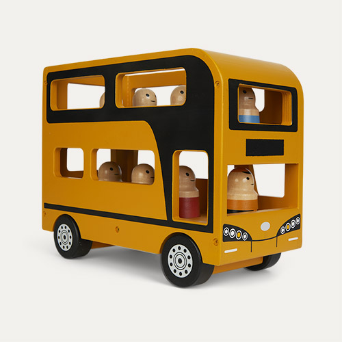 Yellow Kid's Concept Double Decker