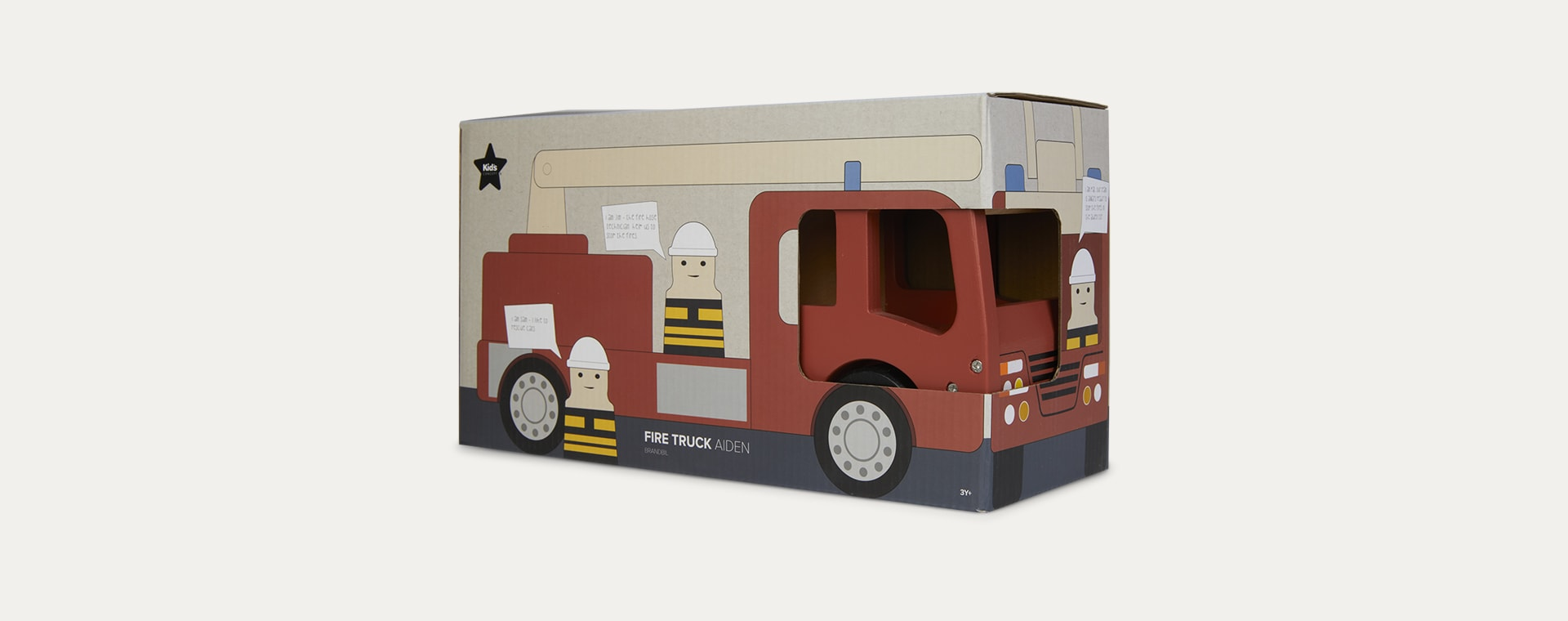 Red Kid's Concept Fire Truck