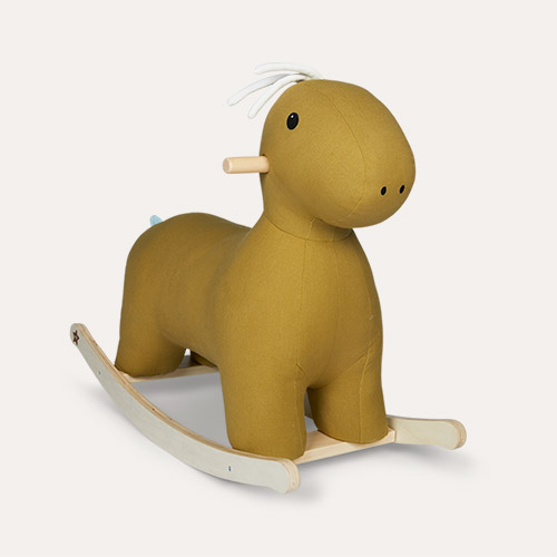 Green Kid's Concept Rocking Horse Dino