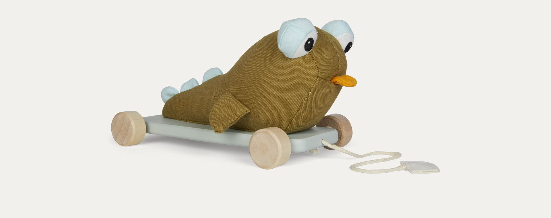 Green Kid's Concept Otto the Mudskipper Pull Along